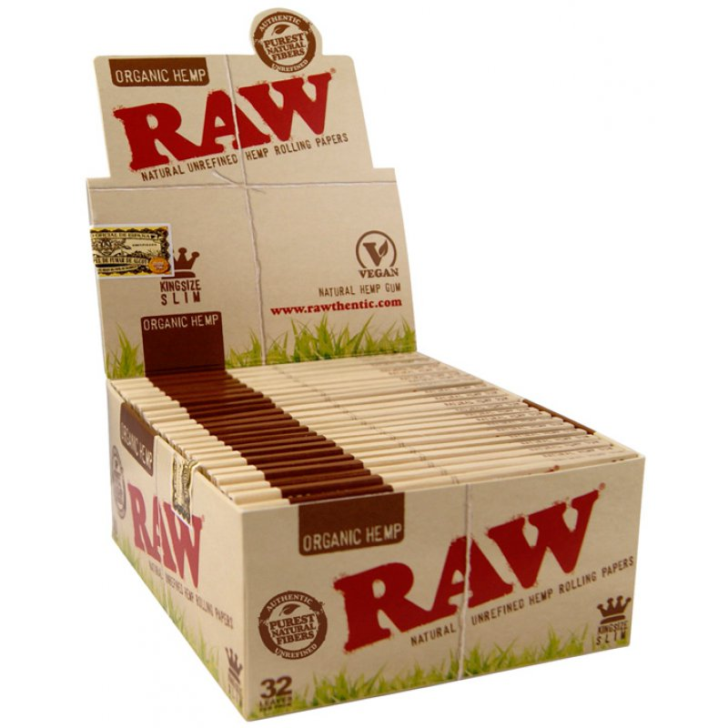CAIXA Raw King Size Slim Organic