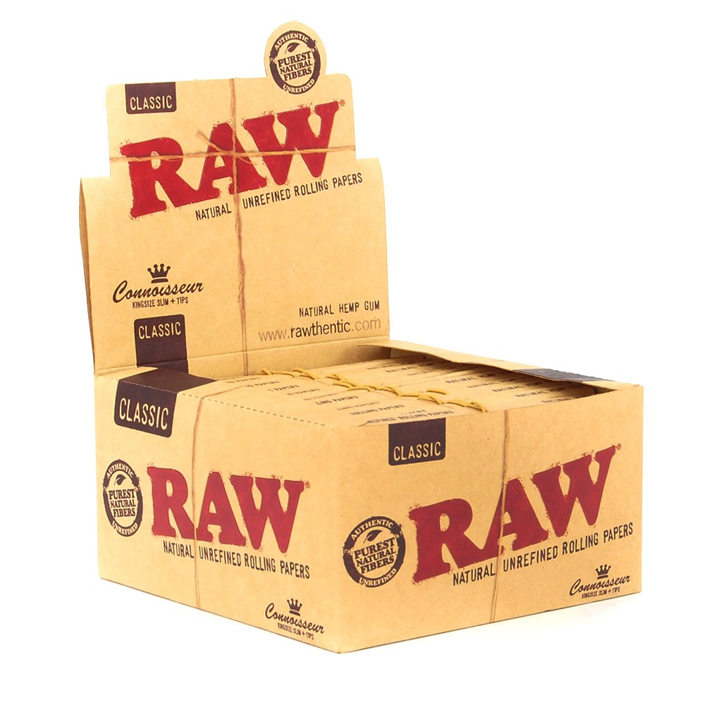 CAIXA Raw King Size Slim + Filtro  (Connoisseur)