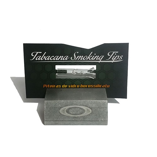Piteira de Vidro Tabacana Smoking Tips
