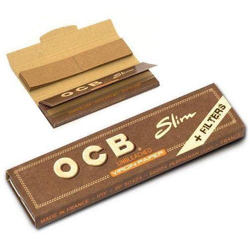 OCB King Size  Brown Slim + Filtro