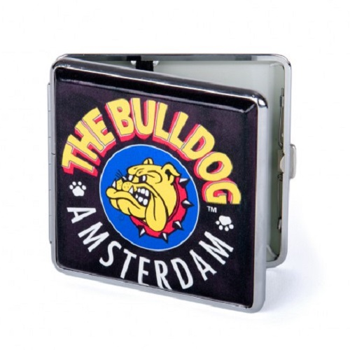 Cigarreira de Metal Case The Bulldog